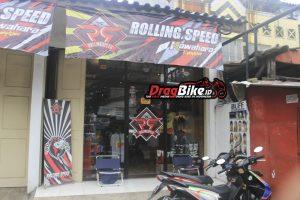Jl. Rajawali Barat no 277 Jadi Markas Rolling Speed Store