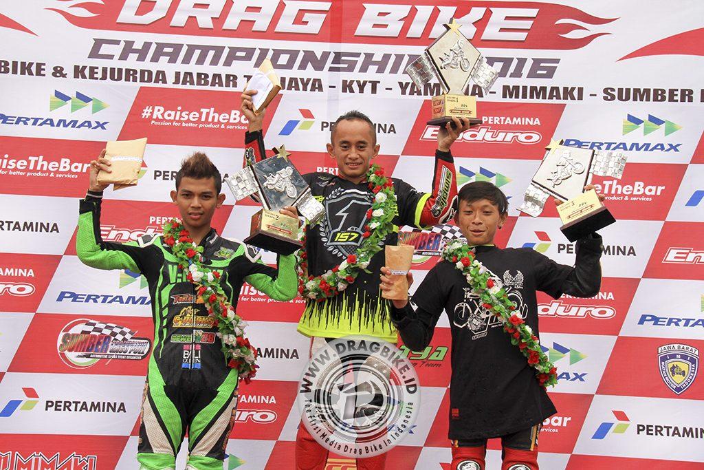 Bayu Ucil berhasil jadi jawara Runner Up di Pertamax Drag Bike Championship, Persembahkan prestasi terbesar untuk team V-Reinz Bali Queen